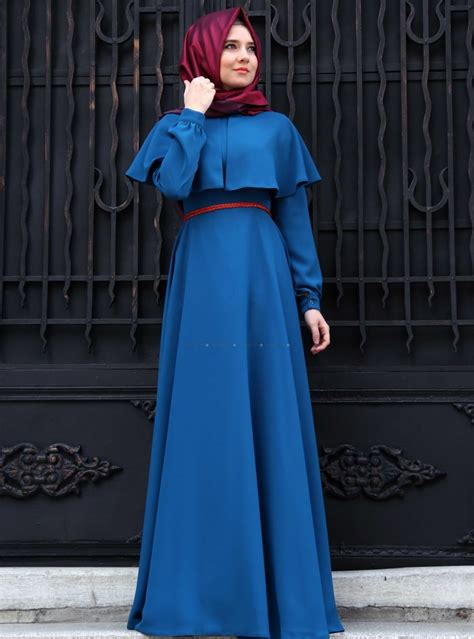 Cigaret Maxi P Dress Gamis Busana Muslim Wanita model gamis cantik gamis modern cape dress
