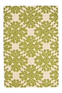 coqo floral rug lime from anthropologie
