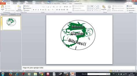 tutorial para hacer powerpoint tutorial como hacer tu logotipo en powerpoint sin ningun