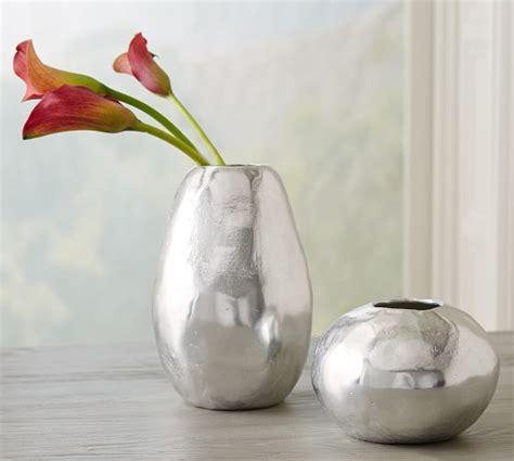 Aluminum Vases by Elaine Recycled Aluminum Vases Pottery Barn