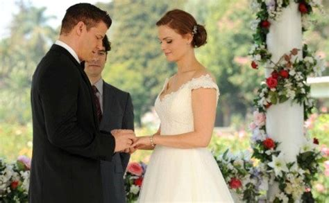 Bones Wedding Episode Clip by Bones Previews Booth And Brennan S Wedding In And