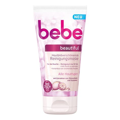Bebe Beautiful bebe 174 beautiful hautbildversch 246 nernde reinigungsmaske