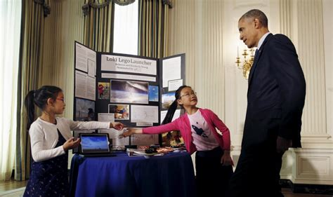 white house science fair future scientists showcase their discoveries at white house science fair pbs newshour