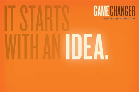 game changer themes um today game changer manitoba s idea competition