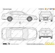 The Blueprintscom  Vector Drawing Chevrolet Impala