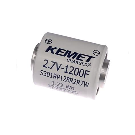kemet supercapacitor s301re657r2r7w kemet capacitors digikey