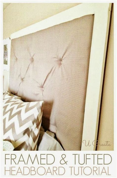 diy headboard tutorial diy framed tufted headboard tutorial tapizado y