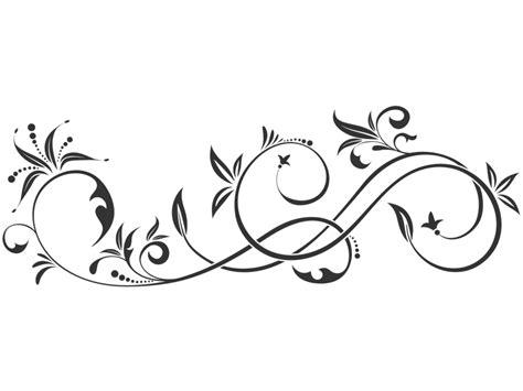 Orientalische Muster Vorlagen Kostenlos Wandtattoo Elegantes Ornament Mit Bl 228 Ttern Wandtattoos De