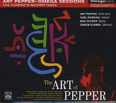 cd format wpl art pepper the art of pepper omega sessions the