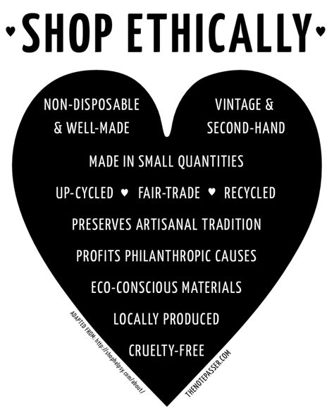 The Shop Voted Most Ethical Brand By Consumers by Guide To Ethical Shopping The Note Passer