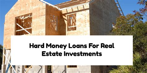 benefits of using money loans for real estate investments