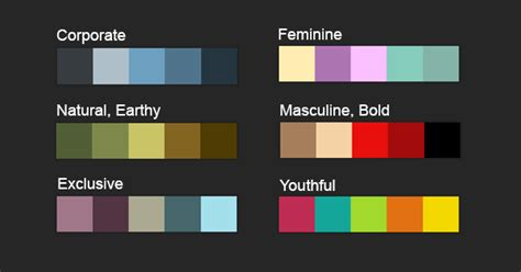 color combinations for website how to effectively design your website other promotional items for your specific target market