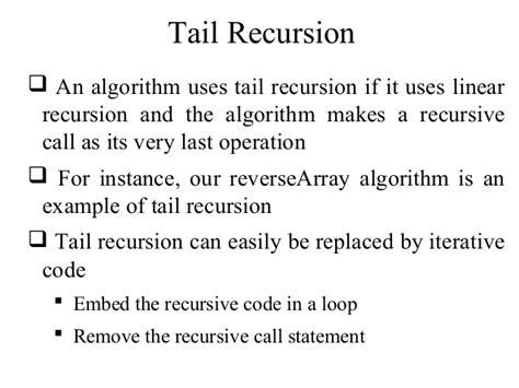 Base For A Recursive Binary Search Algorithm Data Structures Part5 Recursion