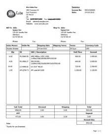 Example Of Invoice Template Invoice Template Sample Invoice Invoice