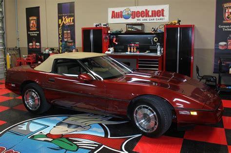 cer makeover 1987 corvette show car makeover sonax showcase