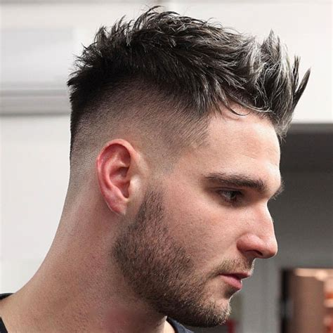 hairstyles high fade with beard 33 stylish haircuts for men