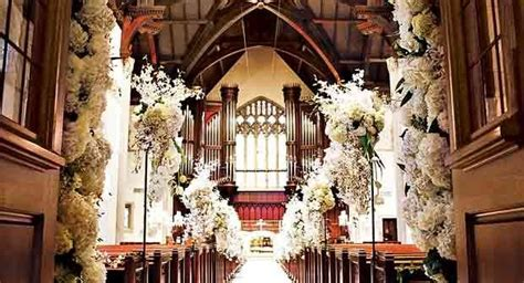 floral decoration church wedding floral decoration