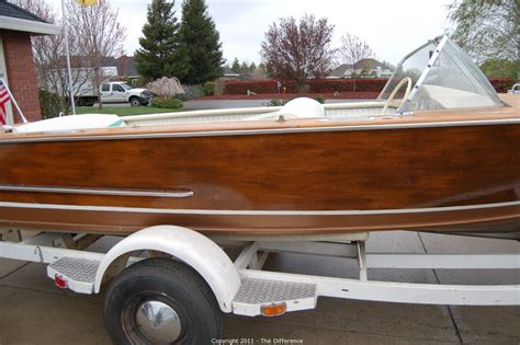 wooden boat auction the difference auction 1962 tollycraft wooden boat item