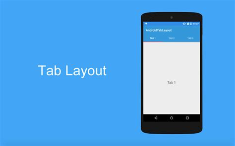 tab layout android design support library tutorial android membuat tab dengan tablayout android