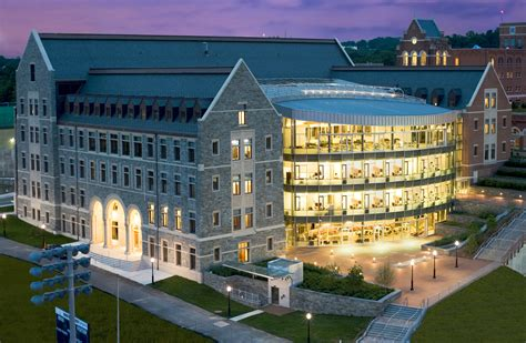 Georgetown Mcdonough Mba Invitation Dates by Georgetown S Mcdonough School Of Business