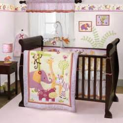 lavender and pink jungle safari baby nursery zebra