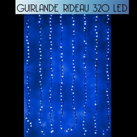 Rideau De Noel by Rideau Lumineux De Noel 320 Led Bleueffet Goutte D Eau