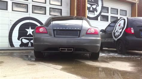 Chrysler Crossfire Exhaust by Guerrilla Exhaust Bypass On A Chrysler Crossfire