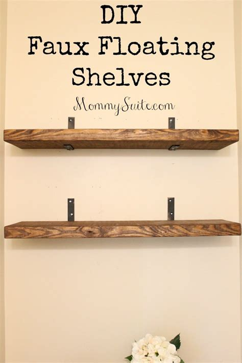 Bookcases Office Depot Diy Faux Floating Shelves Mommy Suite