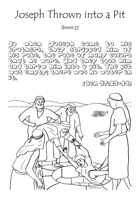 sunday school coloring pages for joseph sunday school joseph bible coloring pages