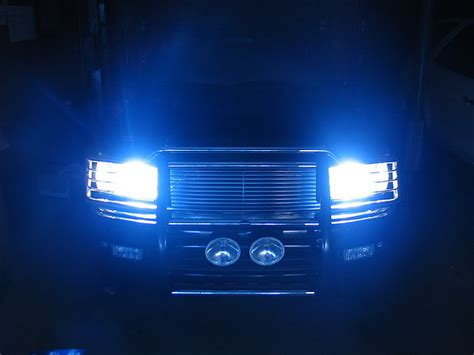 hid lights for trucks flashlight reveries caught in the headlights of a truck