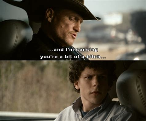 movie quotes zombieland woody harrelson zombieland quotes quotesgram