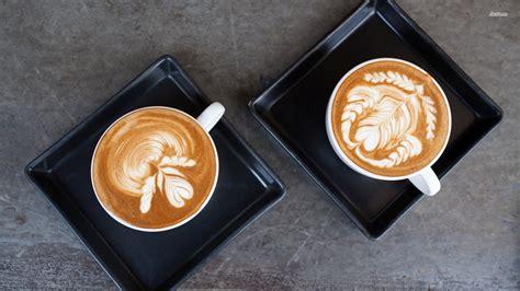 latte art wallpaper gallery