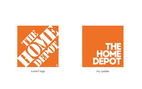 the home depot rebranding concept on behance