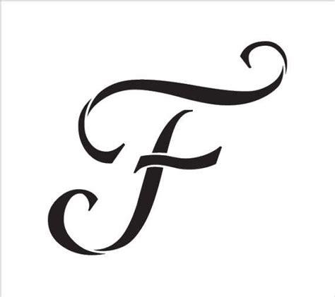 graceful monogram stencil select size stcl