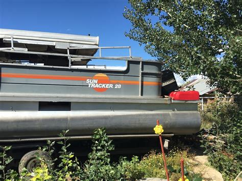 tracker boats us tracker 28 pontoon boat for sale from usa