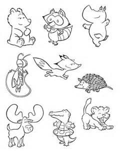 disegno di piccoli animali da colorare disegni da
