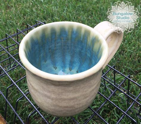 coffee mug in handmade pottery mug gift for coffee lover