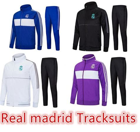 Midlayer Real Madrid 1 Stel Tracksuit 17 18 Grade Ori acheter veste de surv 234 tement real madrid football 17 18