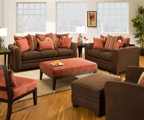 livingroom furniture set simmons upholstery espresso living room set living