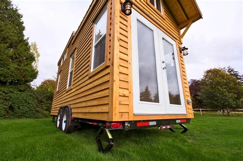 small homes on wheels 160 sq ft tiny house on wheels by tiny living homes