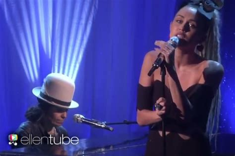 linda perry vote miley cyrus linda perry perform hands of love from