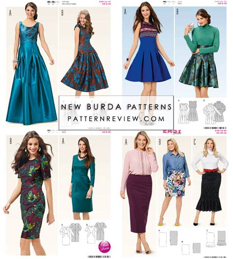 pattern website reviews new burda collection autumn winter 2016 9 2 16