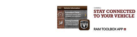 ram trucks mobile app ram truck apps for iphone android blackberry