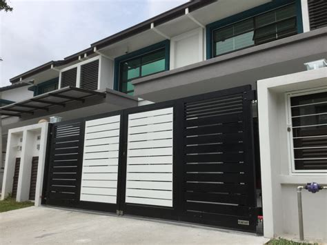modern house steel gate top 5 auto gates in malaysia malaysia s no 1 interior design channel