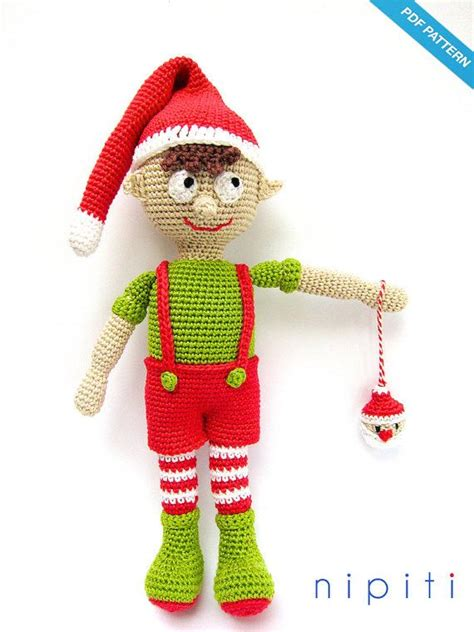 free pattern christmas elf crochet christmas elf boy pattern amigurumi elf on the