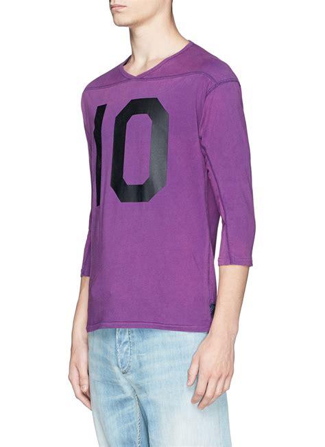 Kenzo Top 86 Baseball scotch soda vintage cotton jersey baseball t shirt in