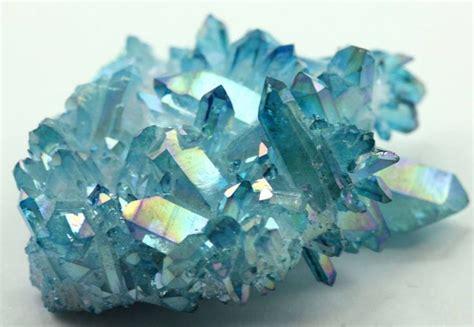aura crystals aqua aura crystal stones pinterest