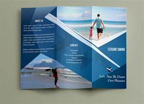 travel brochure templates free travel brochures 18 psd ai vector eps format