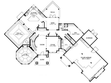 working drawing floor plan plan 035h 0066 find unique house plans home plans and