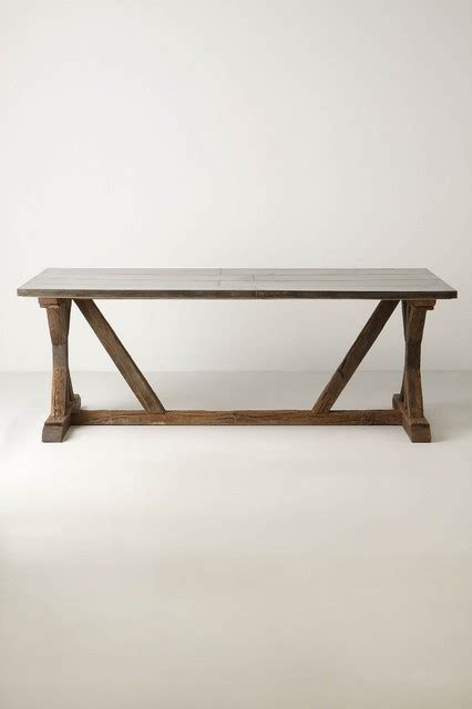 modern farmhouse table eclectic dining tables other